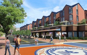 VSU 86,000 square-foot Retail, Restaurant and Residential Building